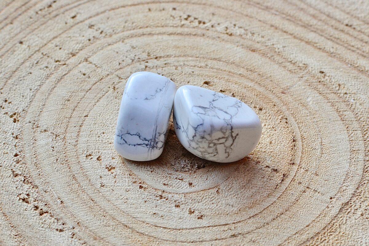 Howlit hvid til reiki-healing