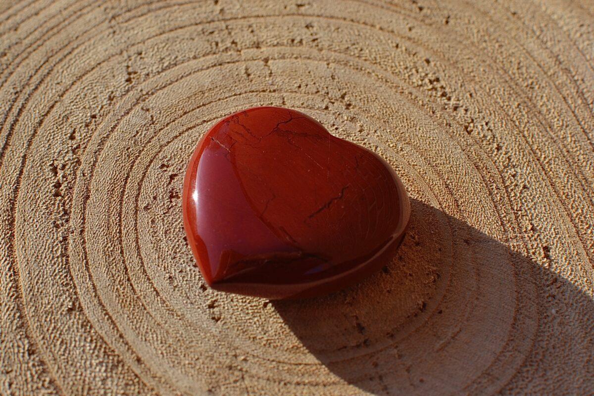 Jade rød til reiki healing